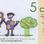 Angela (Ecole Jean Macé Narbonne) illustre le bon d'échange de 5 CERS -verso