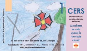 Yann (ALAE Anatole France Narbonne) a illustré le bon d'échange de 1 CERS