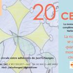 Cynthia - ALAE Ecole Anatole France Narbonne illustre le bon d'échange de 20 CERS -verso